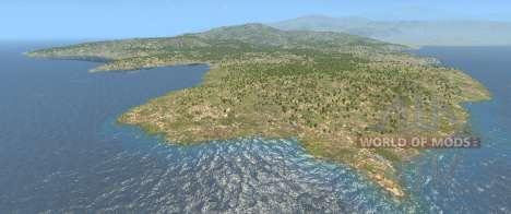 El mapa de Italia para BeamNG Drive