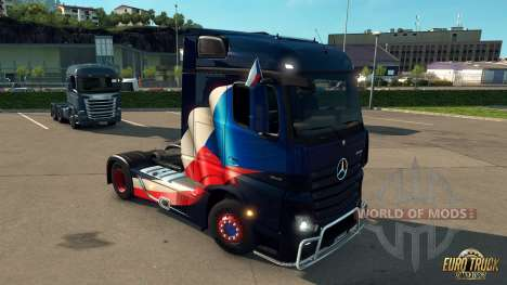 National Window Flags DLC para Euro Truck Simulator 2