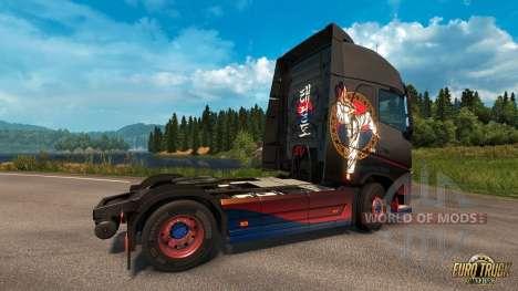 el Taekwondo de la piel para Euro Truck Simulator 2