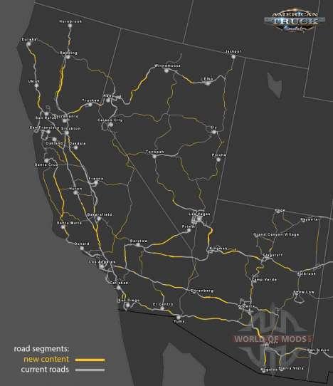 el Reciclaje el sistema de carreteras en American Truck Simulator