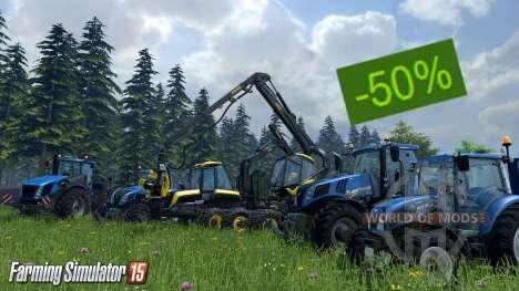 Descuentos en la Farming Simulator 15