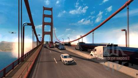 El cambiar la escala de la American Truck Simulator juego de mundo