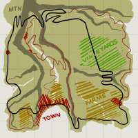 el Esquema de la Italia mapa para BeamNG Drive