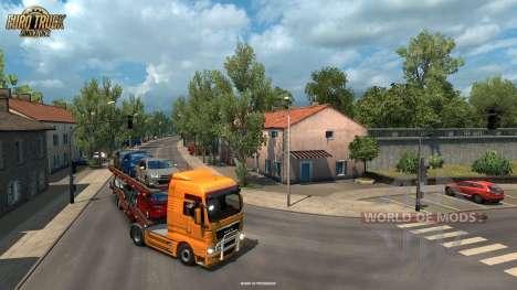 Estrechas barras de La Rochelle desde el Vive La France actualización para Euro Truck Simulator 2