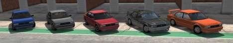 ETK la Serie I de BeamNG Drive - todas las variantes