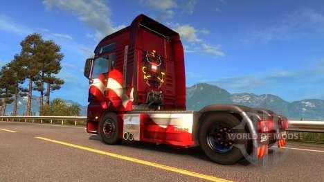 Austriaco de la piel para Euro Truck Simulator 2
