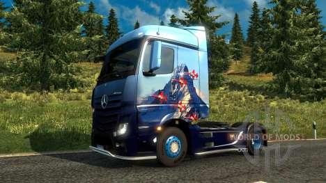 la Suiza de la piel para Euro Truck Simulator 2