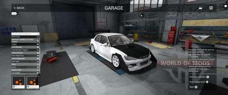 Garaje Modo en BeamNG Drive