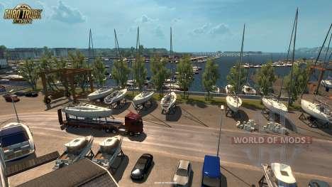 las Nuevas capturas de pantalla de Vive La France actualización para Euro Truck Simulator 2