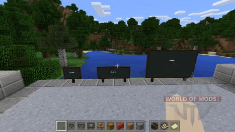 Pizarras en Minecraft Education Edition