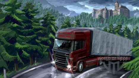 aventura en el Bosque en Euro Truck Simulator 2