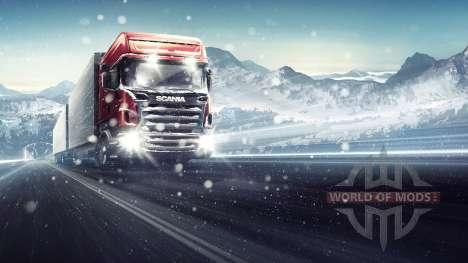a Través de la Ventisca de Euro Truck Simulator 2