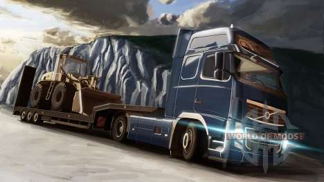 La Volvo y la Topadora en Euro Truck Simulator 2