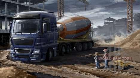 Padres e hijos en Euro Truck Simulator 2