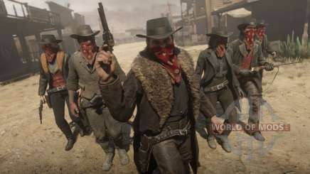 The trial of the bandit Red Dead Redemption 2
