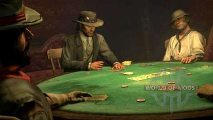 Red Dead Redemption 2: trial gambling