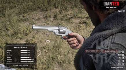 Red Dead Redemption 2: repair weapons