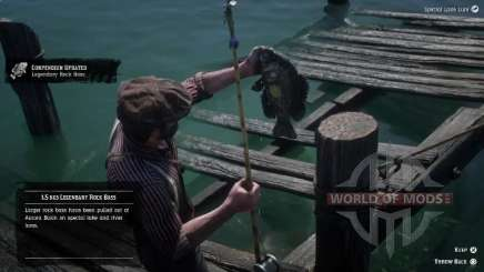 Red-Eyed rock bass en RDR 2