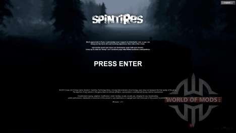SpinTires Tech Demo v1.1 (13 de mayo) 2013 RUS y ENG