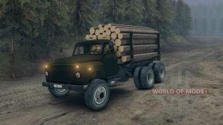 Gaz-52 modificado para Spin Tires