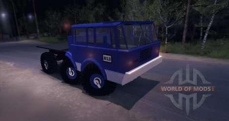 Tatra 813 6X6 TRUCKTRIAL para Spin Tires