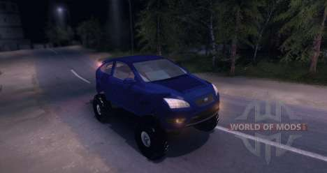 Ford Focus 2 OffRoad para Spin Tires