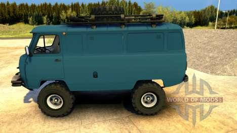 UAZ-452 Tablet para Spin Tires