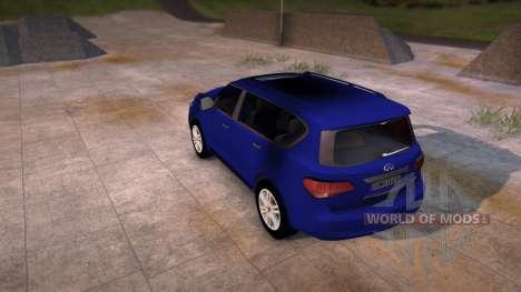 Infinity QX56 para Spin Tires