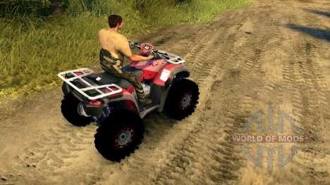 Honda ATV TRX 680 para Spin Tires