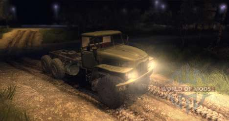 Chasis Ural para Spin Tires