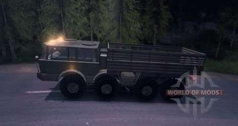 Tatra 813 8x8 para Spin Tires
