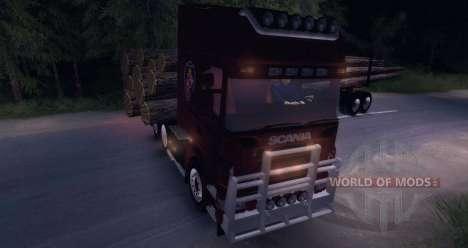 Scania Truck Logger v2.2 para Spin Tires