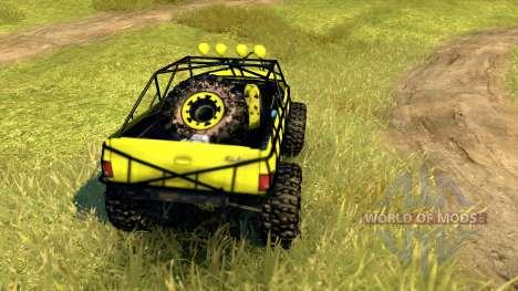 Chevy Blazer Rock Crawler para Spin Tires