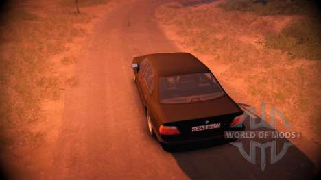 BMW 750Li Shadow Line para Spin Tires