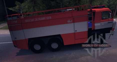 Tatra 815 fuego para Spin Tires