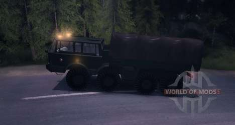Tatra 813 8 x 8 Final ejército Checo para Spin Tires