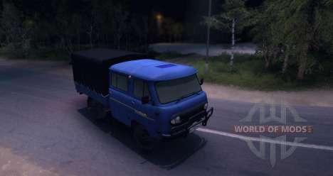 UAZ 39094 para Spin Tires