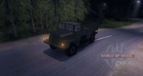 Tatra 128 FULL para Spin Tires