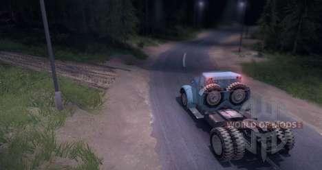 MAZ 200V para Spin Tires