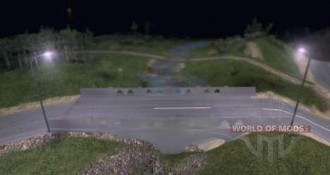 LARGO hoja de ruta para Spin Tires