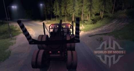 KrAZ 6437 Beta para Spin Tires