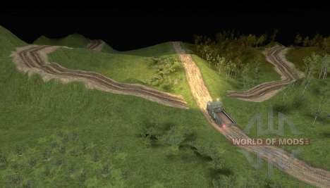 El mapa de camino 2 para Spin Tires