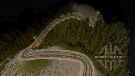 Mapa del bosque 3 para Spin Tires