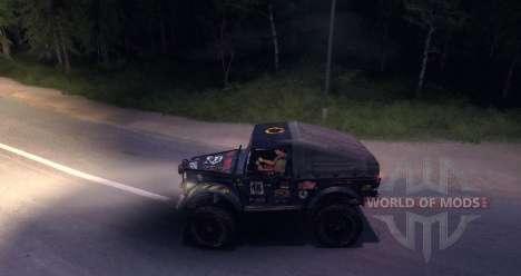 Gaz-69 Offroad Edition v1.1 para Spin Tires