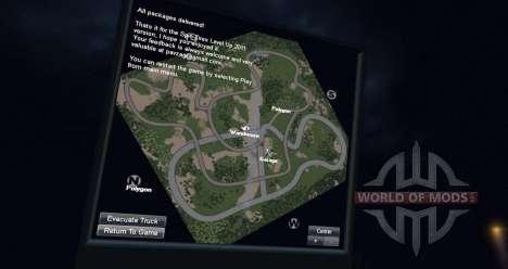 Mapa de tala para Spin Tires
