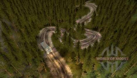 Mapa del camino al cielo para Spin Tires