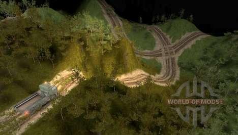 Mapa de colinas para Spin Tires