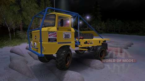 IFA W50 Truck Trial para Spin Tires