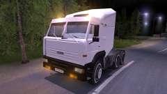 KAMAZ-6460 blanco
