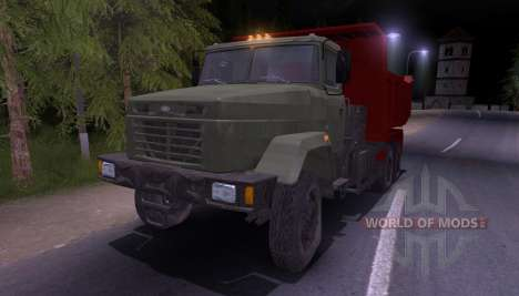 KrAZ-65055 para Spin Tires